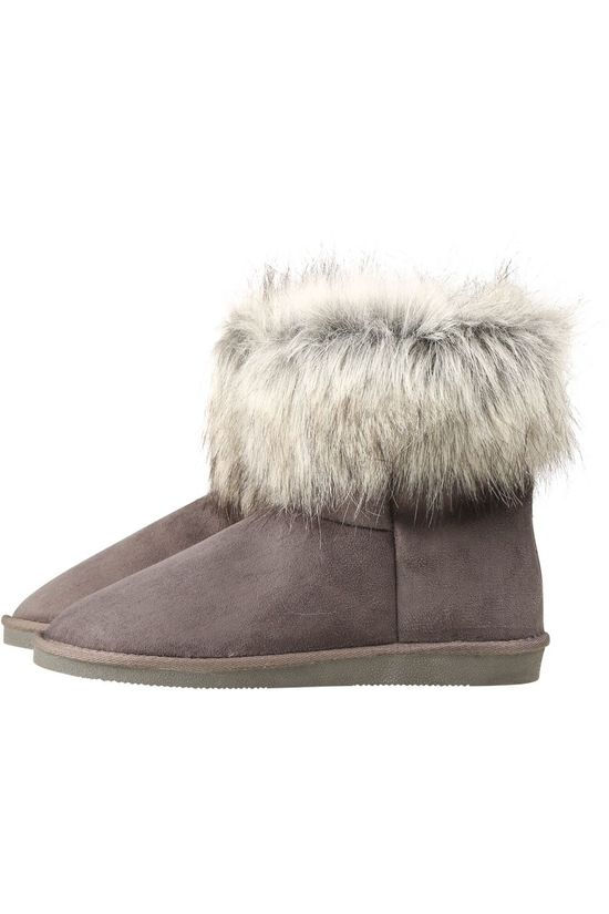 Vero Moda Slippers Vmkennalo Boot mid grey