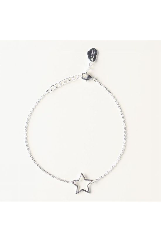 Estella Bartlett Bracelet Open Star silver