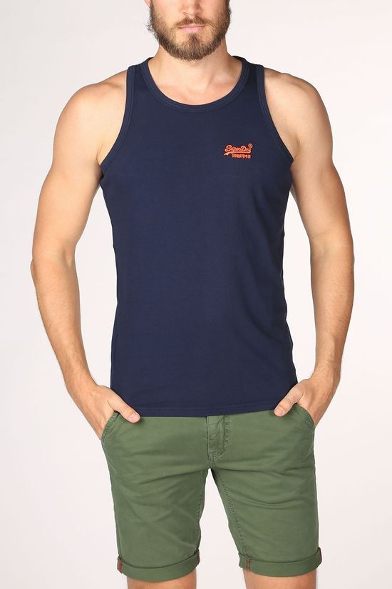 Superdry Top  Ol Neon Lite Marineblauw