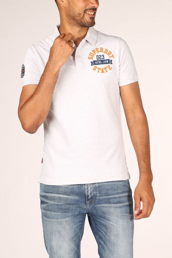 Superdry Polo Classicerstate S/S Light Grey Marle