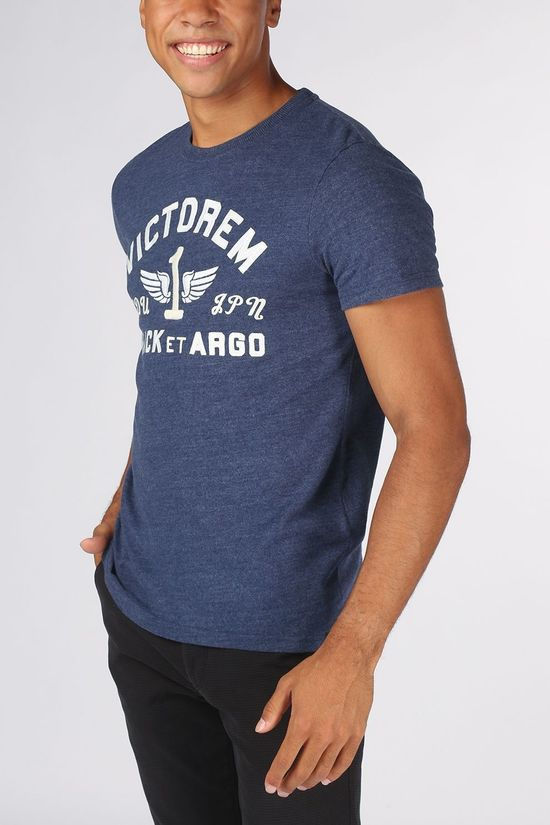 Superdry T-Shirt M1010369A mid blue