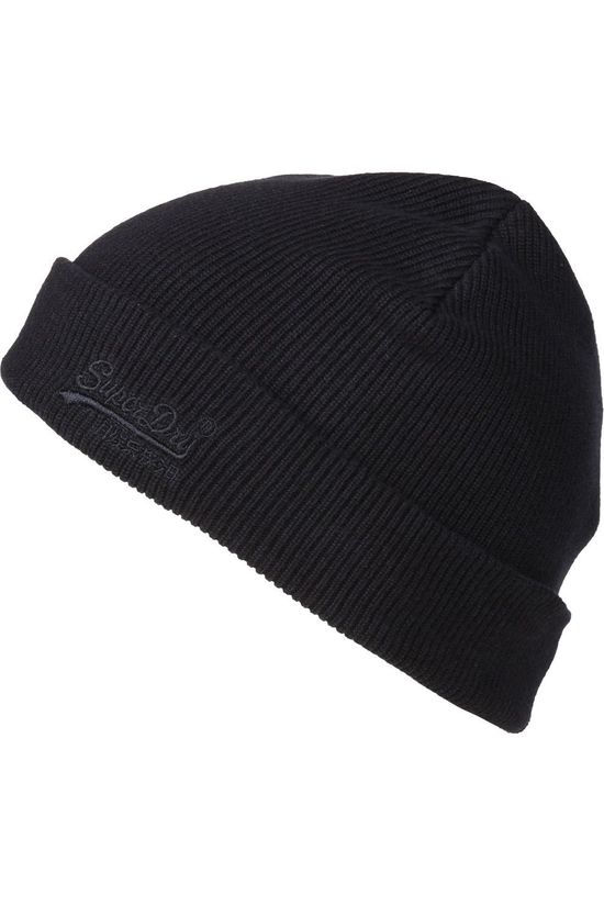 Superdry Bonnet Orange Label Beanie dark blue