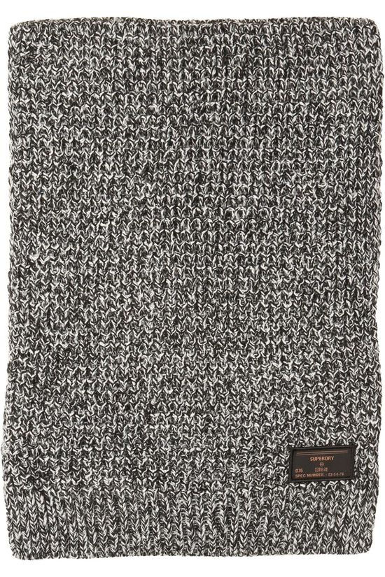 Superdry Scarf Stockholm dark grey