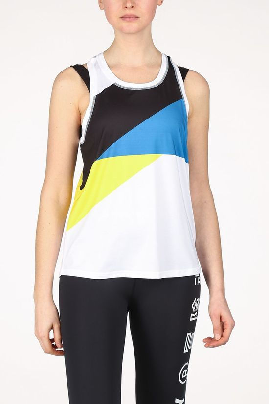 Superdry Top Training Spliced White/Assorted / Mixed