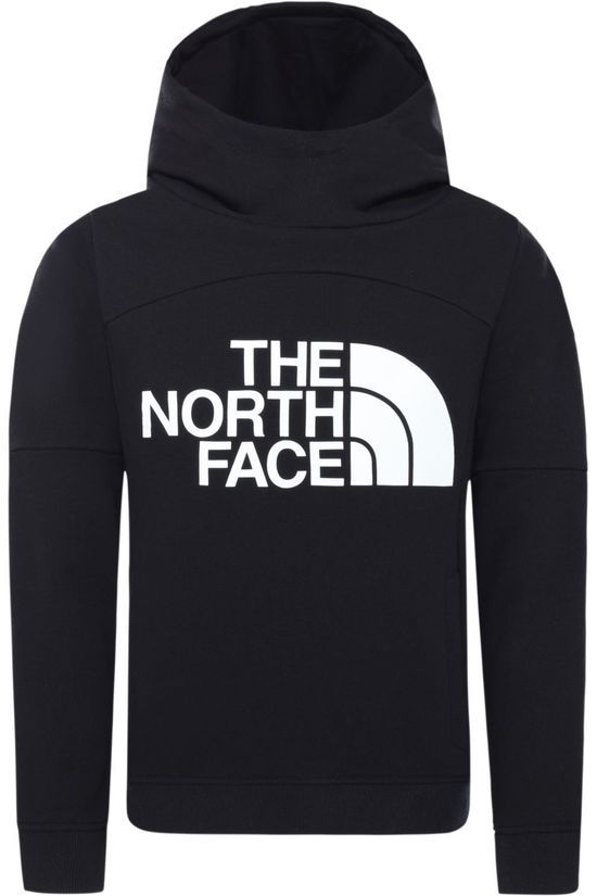 The North Face Trui Girl'S Drew Peak Hoodie Zwart/Wit