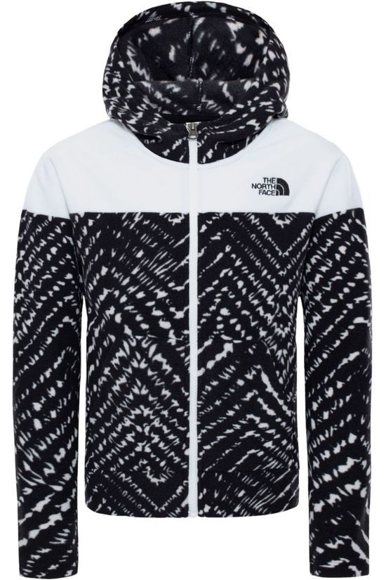 The North Face Trui Glacier Full Zip Hoodie Zwart/Wit