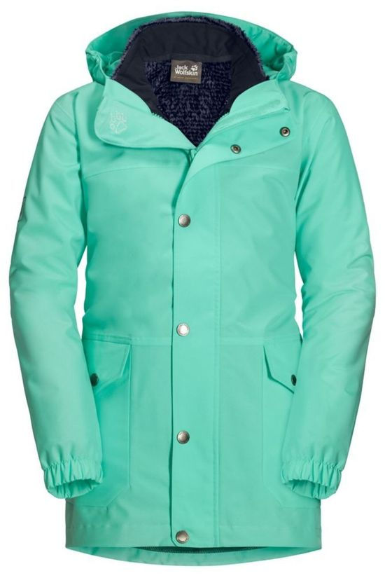 Jack Wolfskin Coat Icy Falls 3In1 Turquoise/Dark Blue