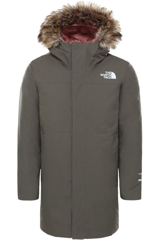 The North Face Down Arctic Swirl Parka mid khaki