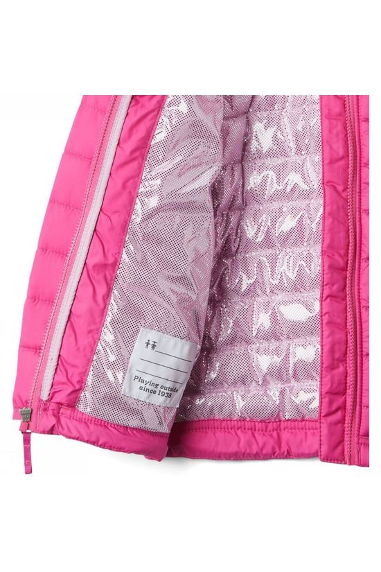 Columbia Coat Powder Lite Fuchsia
