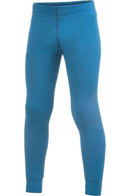 Woolpower Broek Long Johns 200 (kids baselayer) Blauw