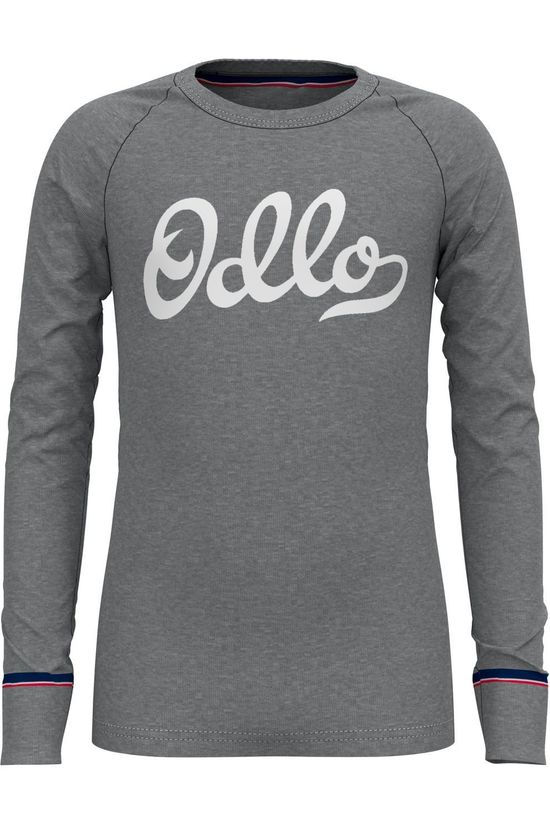 Odlo T-Shirt Active Warm Originals Gris Moyen/Mélange