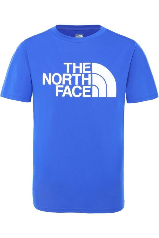 The North Face Polo Neck Boy'S S/S Reaxion 2.0 royal blue/orange