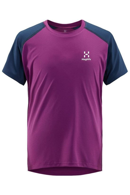 Haglöfs T-Shirt Tech dark purple/dark blue