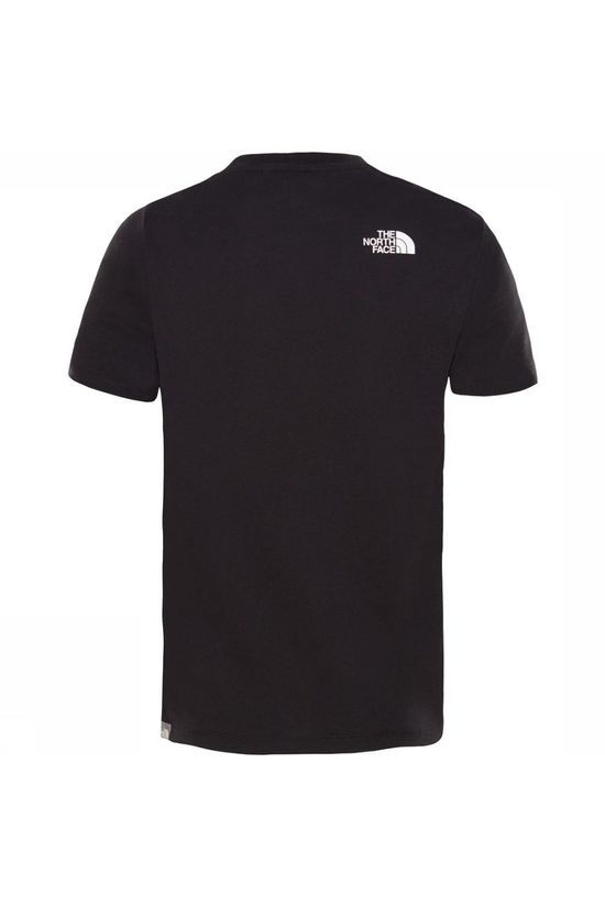 The North Face T-Shirt Youth S/S Easy Zwart