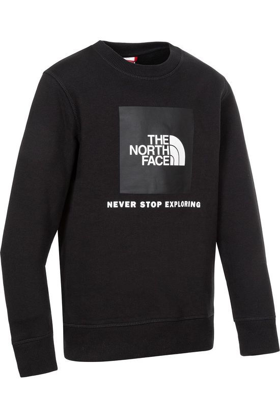 The North Face Pull Box Crew Noir/Blanc Cassé