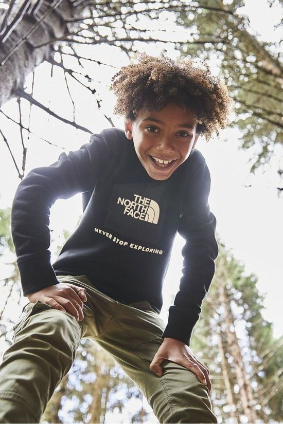 The North Face Trui Box Crew Zwart/Gebroken Wit