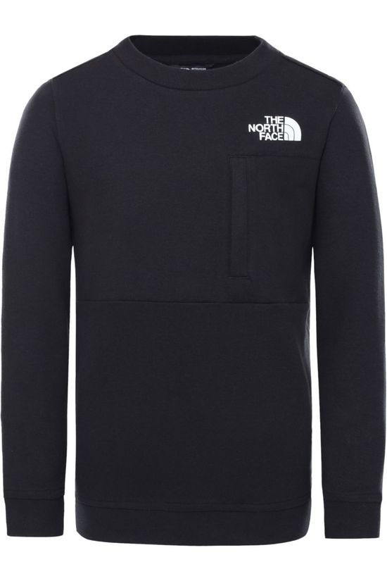 The North Face Pull Slacker Crew Noir/Blanc