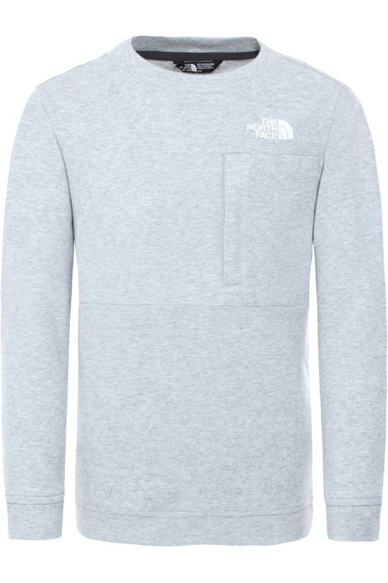 The North Face Pullover Slacker Crew Light Grey Marle/No colour
