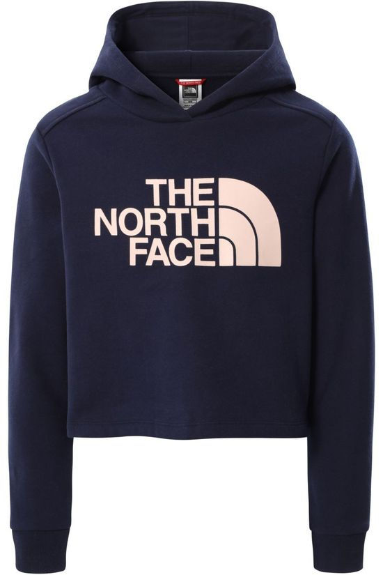 The North Face Trui G Drw Pk Crop P/O Hd Donkerblauw