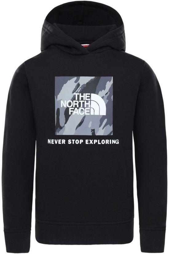 The North Face Pullover Y New Box P/O Hoodie black