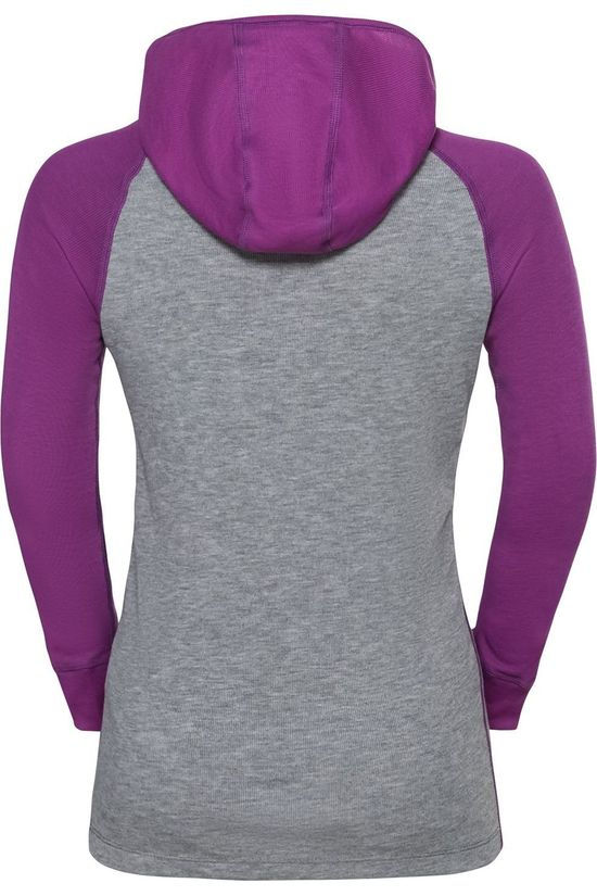 Odlo Pullover Active Warm Eco purple/mid grey