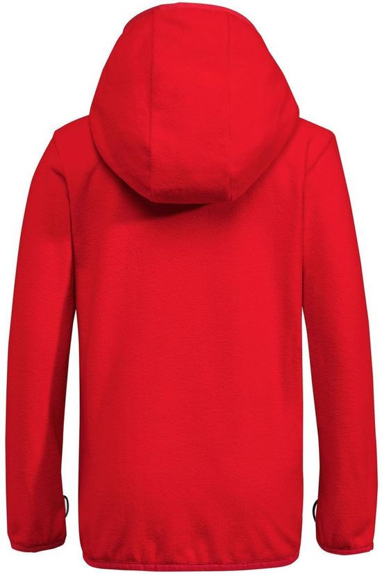 Vaude Pullover Pulex Hooded red