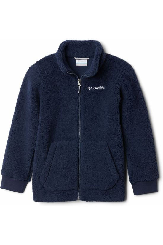 Columbia Pullover Rugged Ridge II Sherpa Navy Blue