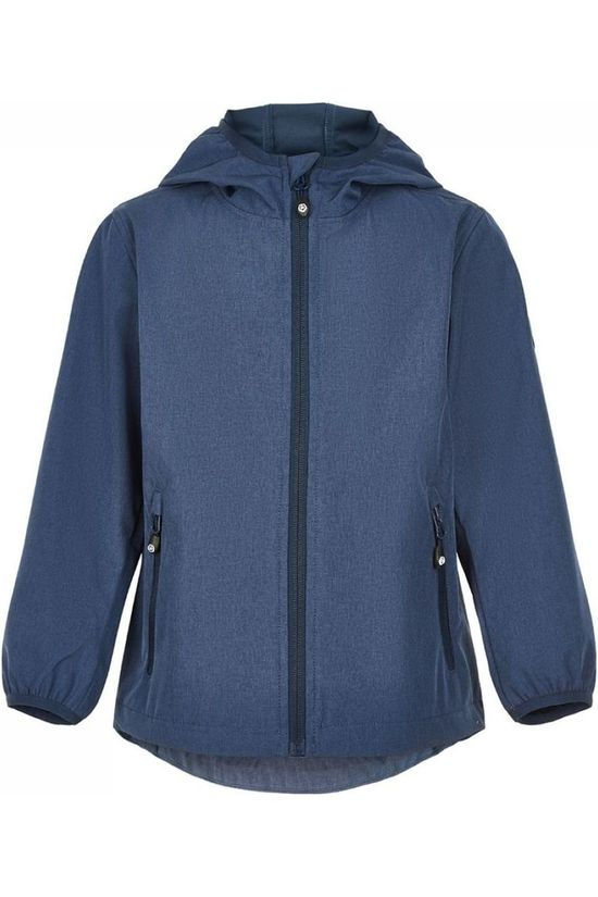 Color Kids Softshell Tadimir Softshell Aop Donkerblauw