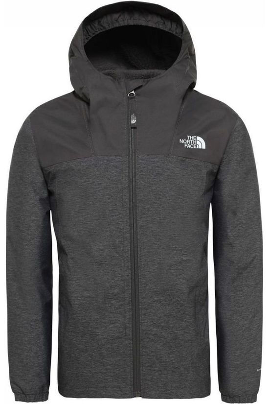 The North Face Coat Warm Storm Light Grey Marle/Black