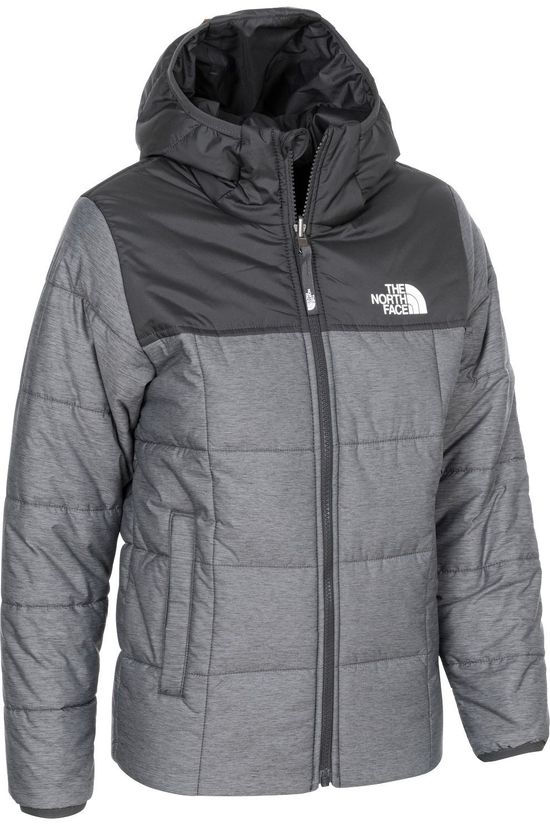 The North Face Doudoune B Rev Perrito Gris Clair Mélange