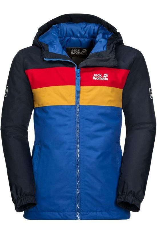 Jack Wolfskin Coat Four Lakes blue/dark blue