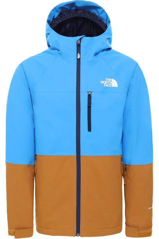 The North Face Coat Chakado Insulated light blue/brown