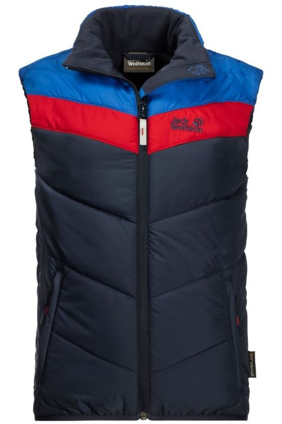 Jack Wolfskin Coat Three Hills dark blue/red