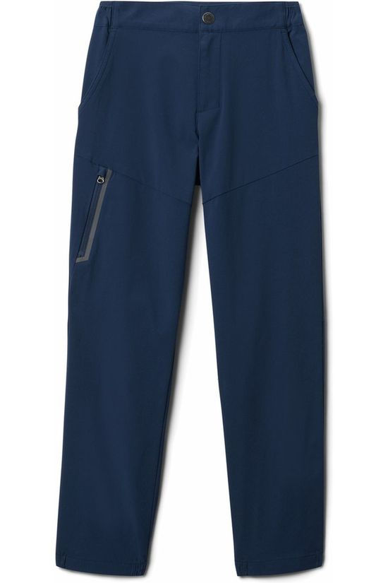 Columbia Trousers Tech Trek Navy Blue
