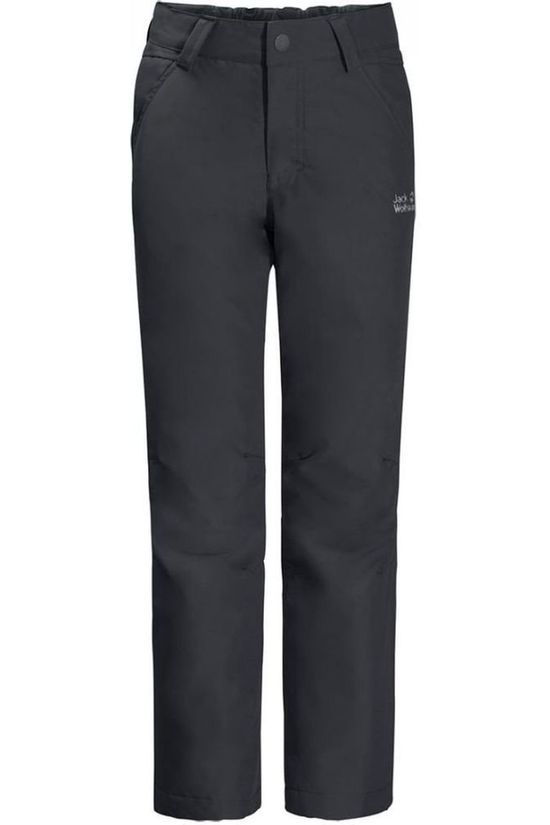 Jack Wolfskin Trousers Baksmalla dark grey