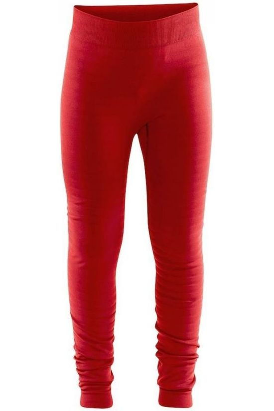 Craft Trouser Warm Comfort J mid red