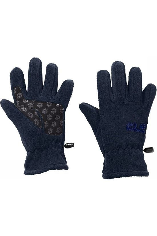 Jack Wolfskin Glove Jack Wolfskin Fleece dark blue/black