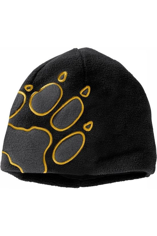 Jack Wolfskin Bonnet Front Paw black/yellow