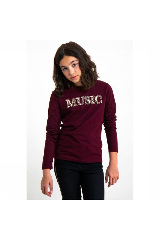 Garcia T-Shirt I92401 Bordeaux