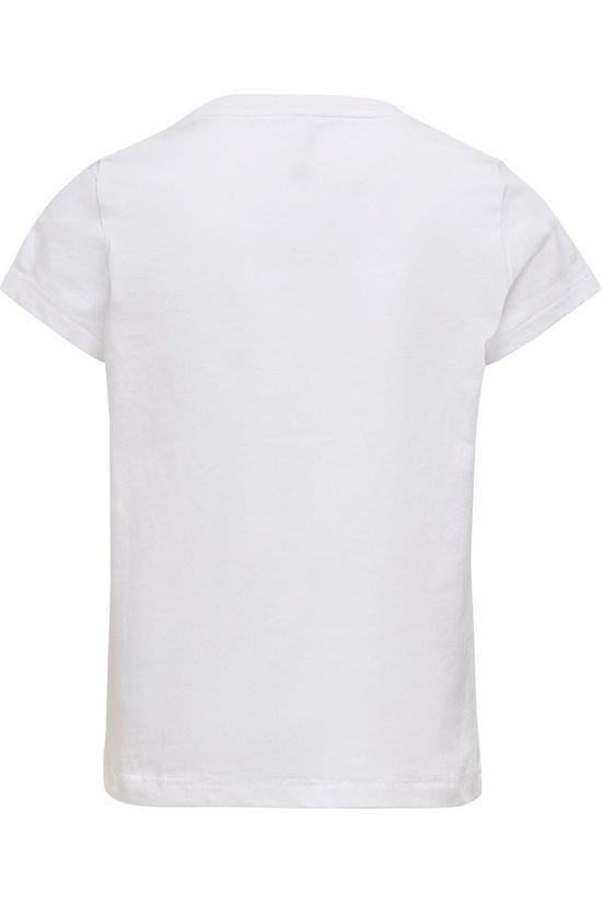 Kids Only T-Shirt karen Life S/S Fit Top Jrs Blanc