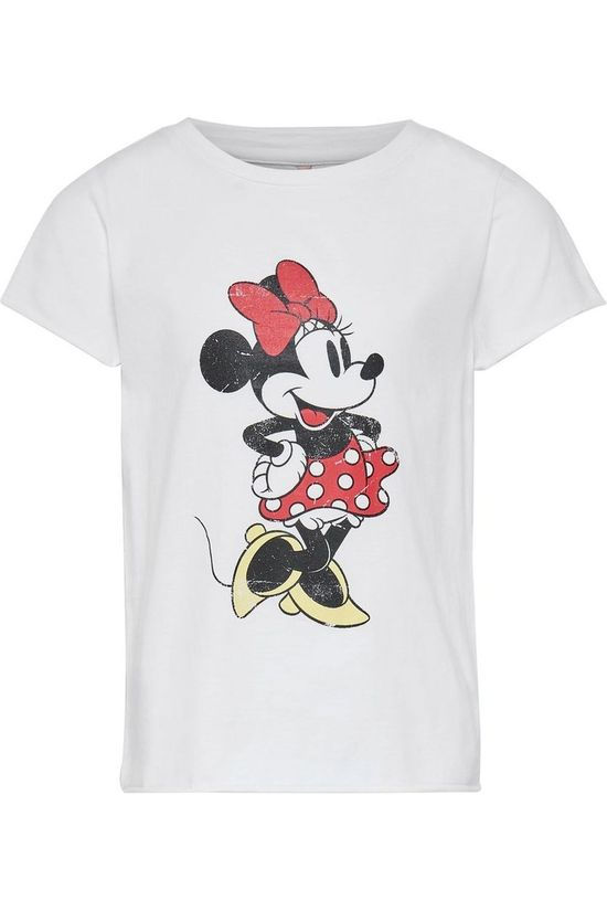 Kids Only T-Shirt mickey Minnie white
