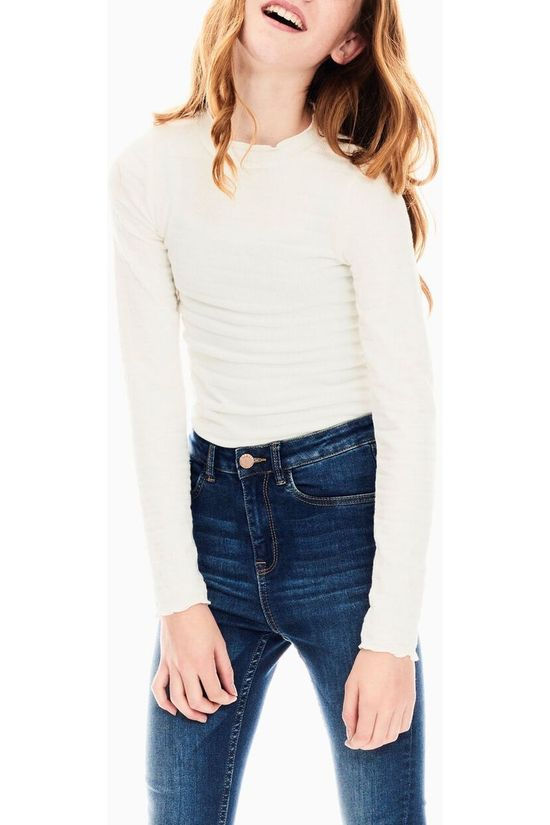 Garcia Polo Neck U02402 off white