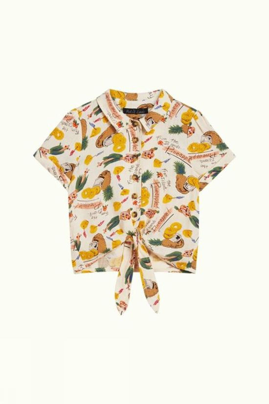 Petit Louie Shirt Knot Punch off white/yellow