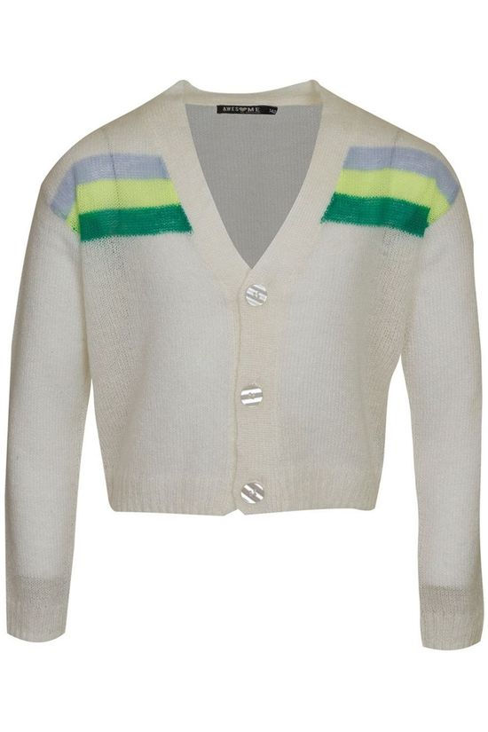 Awesome Cardigan Glamour-G-15-G Blanc Cassé