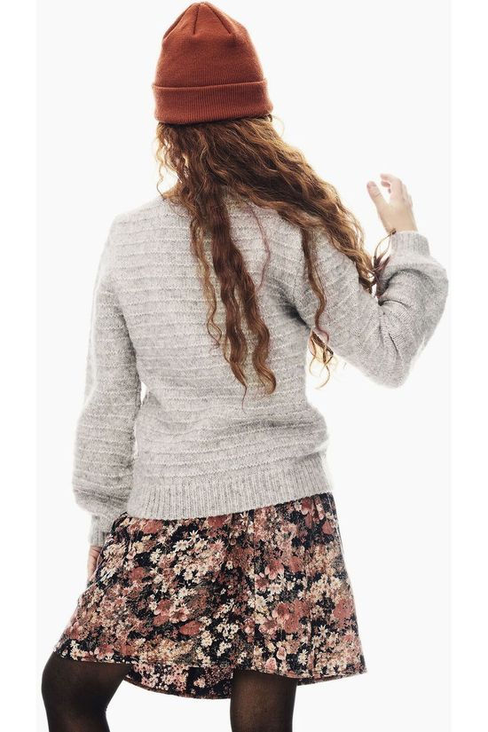 Garcia Pullover U02441 Light Grey Marle
