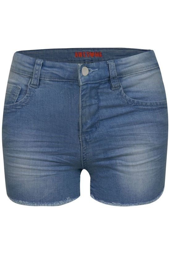 Awesome Short Lente-G-30-C Denim / Jeans/Bleu Clair (Jeans)