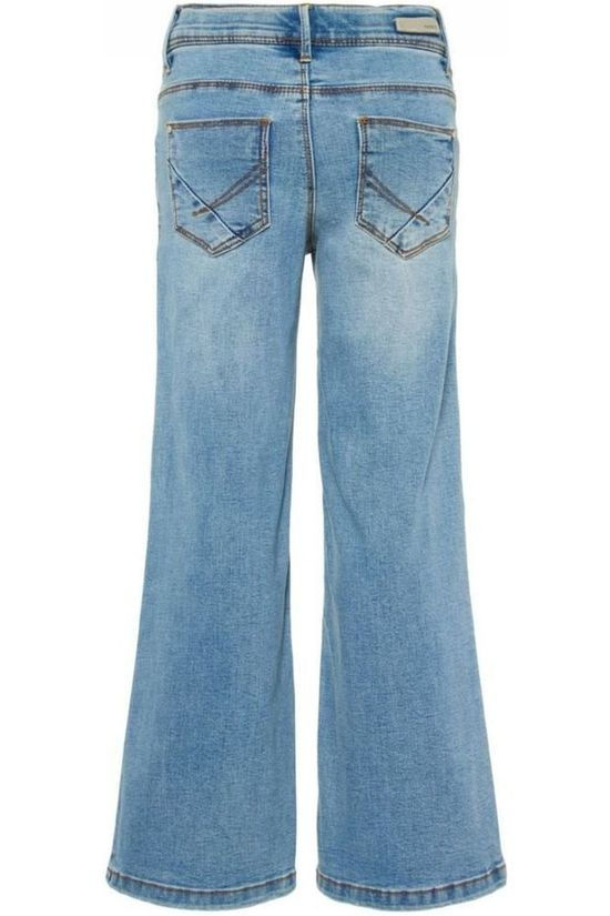 Name It Jeans faterete Dnm 1260 Wide Pant Jeans/Lichtblauw
