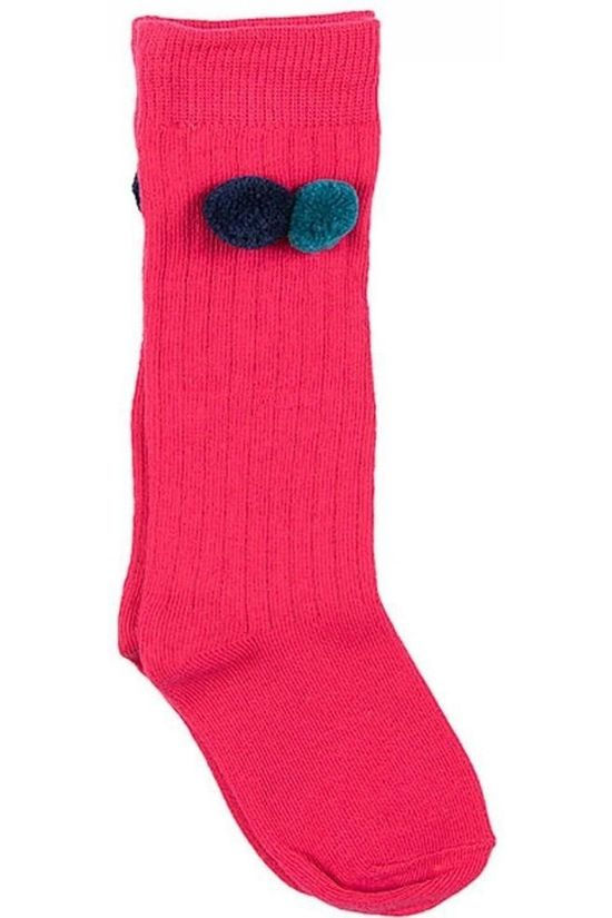 Someone Sock Mono-Sg-81-D mid pink