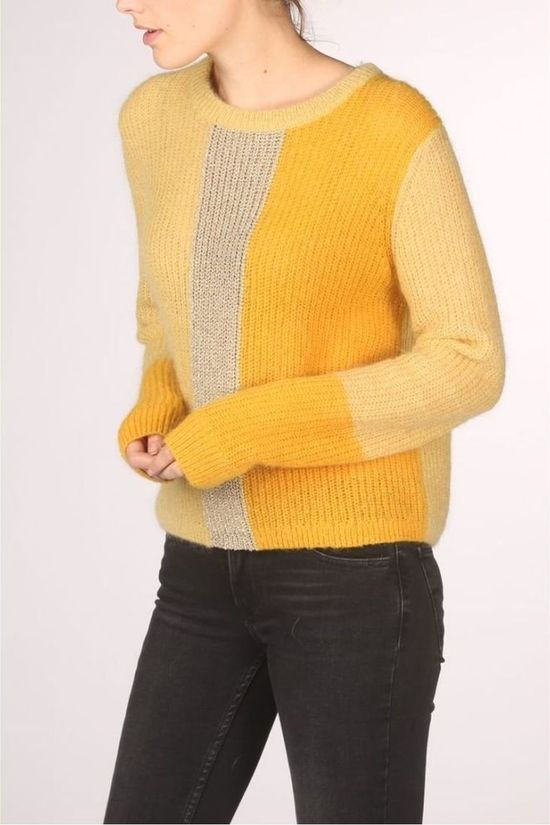 Terre Bleue Pullover Kathy 00 Lm dark yellow/mid yellow