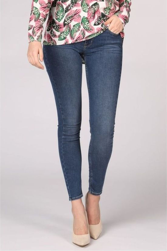 Levi's Jeans 710 Innovation Super Skinny Middenblauw (Jeans)